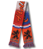 28273 Sjaal rood/wit/blauw/oranje_