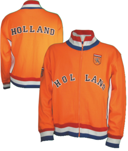 28061 Retro jack geborduurd Holland