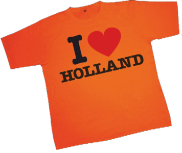 28252 T-shirt I Love Holland