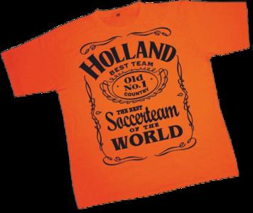 28254 T-shirt soccerteam Holland
