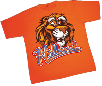 28257 T-shirt Holland Lion