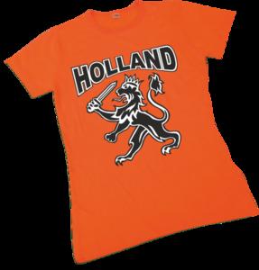 28190 Dames T-shirt met grote leeuw