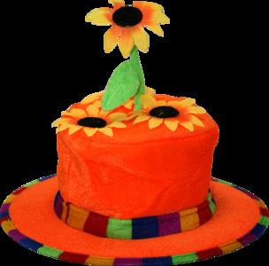 28263 Bloemen hoed
