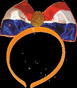 28312 Diadeem vlag r/w/b