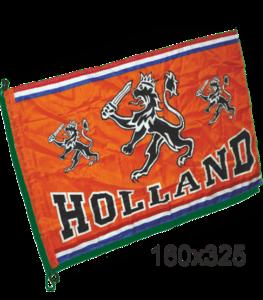 28197 Mega grote vlag oranje Holland