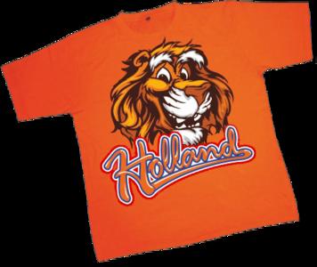 28257 T-shirt Holland Lion Kids