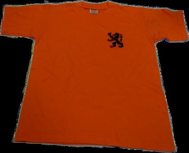 28507 Oranje shirt leeuw