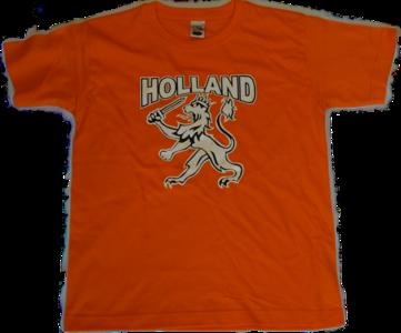 28520 T-shirt Holland & witte leeuw