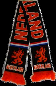 28523 Nederland sjaal zwart oranje